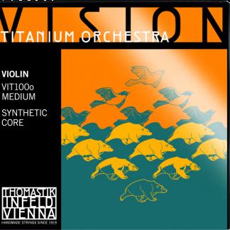 Vision Titanium Orchestra violinsträngar