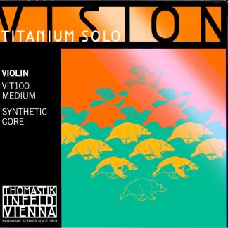 Vision Titanium Solo violinsträngar