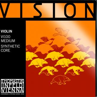 Vision violinsträngar