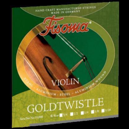 Fisoma Goldtwistle violinsträngar