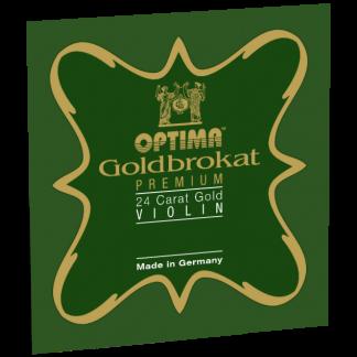 Goldbrokat Premium 24K Gold E violinsträng