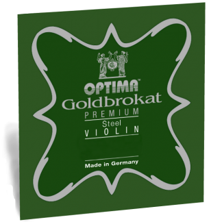 Goldbrokat Premium E violinsträng