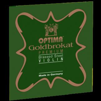 Goldbrokat Premium Brassed E violinsträng