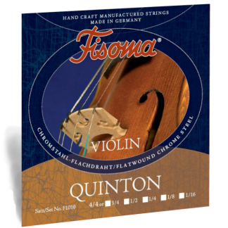 Fisoma Quinton violinsträngar