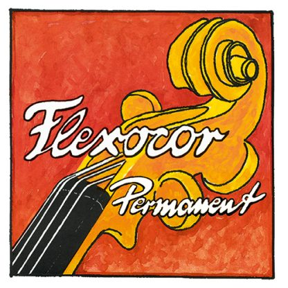 Flexocor-Permanent violinsträngar