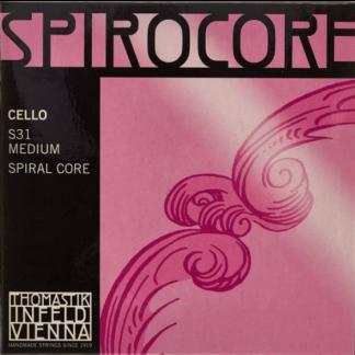 Spirocore cellosträngar