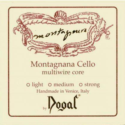 Dogal Montagnana Cellosträngar